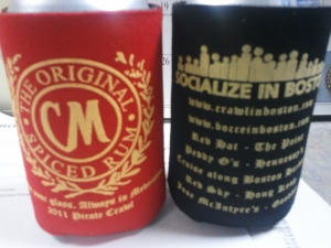 Pirate Crawl Koozies