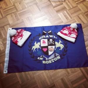xmas flags